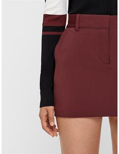 Womens Gabriela Micro Stretch Skirt Dark Mocca