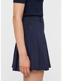 Womens Adina Micro Stretch Skirt JL Navy