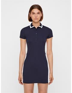 Womens Leona TX Jersey Dress JL Navy