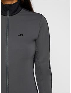 Womens Loa Fieldsensor Mid-Jacket Asphalt Black
