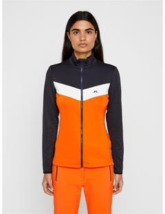 Womens Russel TX Mid-Jacket Juicy Orange