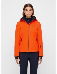 Womens Truuli 2-Layer Jacket Juicy Orange