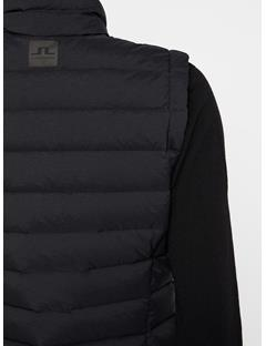 Womens Ease Down Vest Black