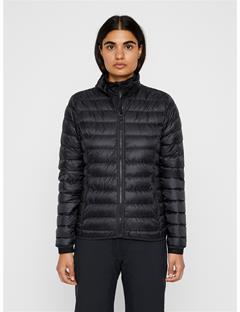 Womens Light Down Sweater Black