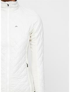 Womens Atna Hybrid Pertex Jacket White
