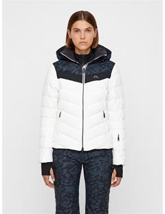 Womens Russel 2-Layer Down Printed Jacket Icelayers