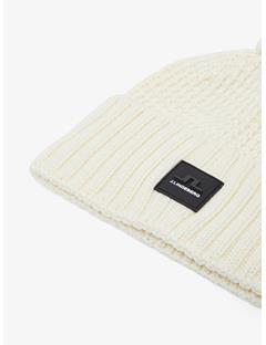 Mens Ball Wool Hat Cloud White
