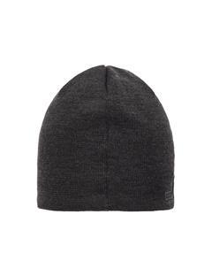 Mens Logo Wool Hat Asphalt Black