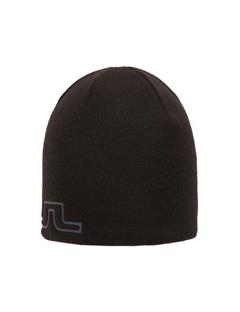 Mens Logo Wool Hat Black