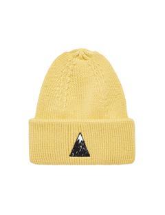 Mens Briggs Wool Hat Banging Yellow