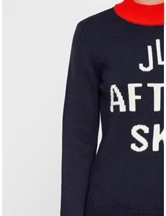 Womens Kayla Wool Coolmax Sweater JL Navy
