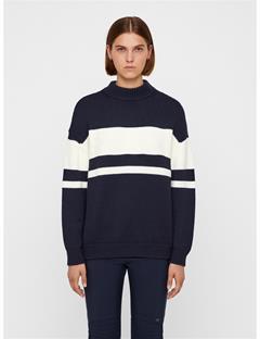 Womens Tai Wool Coolmax Sweater JL Navy