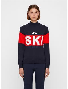 Womens Alice Wool Coolmax Sweater JL Navy