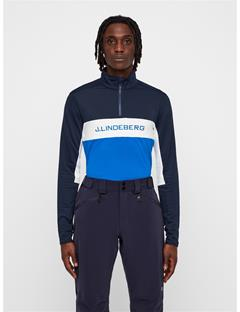 Mens Kimball Striped Mid-Jacket Pop Blue
