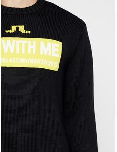 Mens Orlando Wool Coolmax Sweater Black