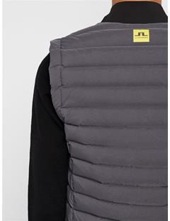 Mens Ease Down Vest Asphalt Black