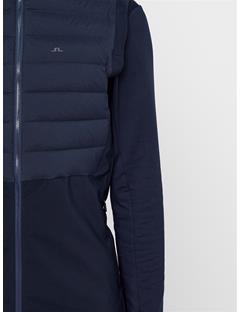 Mens Vertex Hybrid Down Vest JL Navy