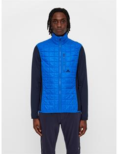 Mens Atna Pertex Hybrid Vest Pop Blue