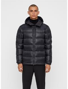 Mens Ross Pertex Down Jacket Black