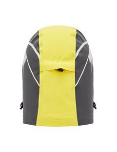 Mens Baker Print Padded Hood Banging Yellow