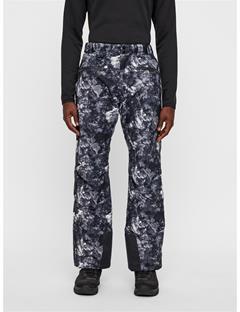 Mens Truuli Printed 2-Layer Pants Glacier Grey