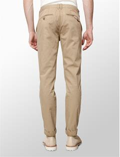 Mens Chaze Season Cotton Pants Beige