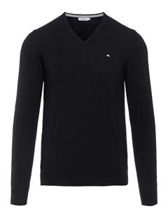Mens Lymann True Merino Knit Sweater Black