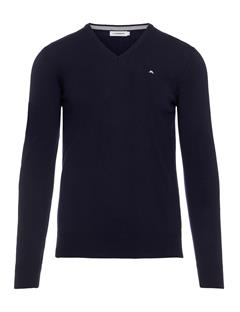 Mens Lymann True Merino Knit Sweater Navy