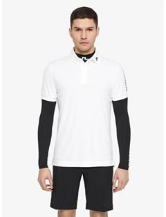 Mens Tour Tech TX Jersey Polo White