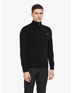 Mens Kian Tour Merino Sweater Black