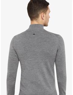 Kian Tour Merino Sweater Grey Melange