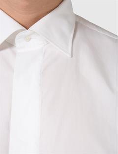 Barto Classic Tux Shirt White
