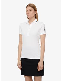 Womens Tour Tech TX Jersey Polo White