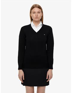 Womens Amaya True Merino Sweater Black
