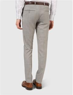 Mens Paulie Dressed Wool Pants Lt Grey Melange