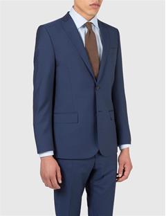 Mens Hopper Dressed Wool Blazer Blueberry