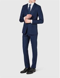 Mens Donnie Soft Legend Wool Blazer Blueberry