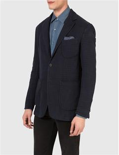 Mens Hopper 3B CPP Unc Delave Check Blazer Navy Check