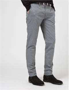 Mens Chaze Flannel Twill Grey Melange