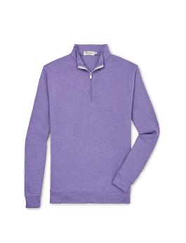 CROWN COMFORT INTERLOCK QUARTER ZIP SWEATER