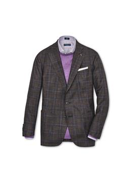 COLLECTION ARE PLAID SOFT JACKET