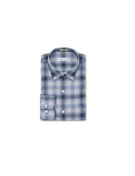 MOUNTAINSIDE MOUNTAIN FOG PLAID SPORT SHIRT