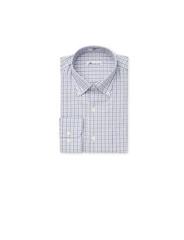 CROWN EASE EYRE SQUARE TATTERSALL SPORT SHIRT