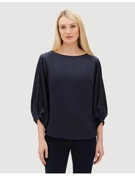 LUXE CHARMEUSE WYNONA BLOUSE