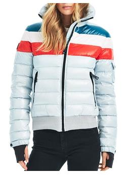 STARBURST BOMBER STRIPE JACKET