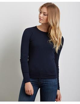 ESSENTIAL HERITAGE KNIT CREWNECK LONG SLEEVE SHIRT