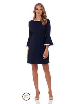 ALICE PONTE FIT & FLARE DRESS
