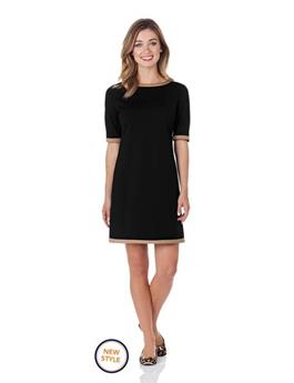 LOUISA PONTE SHIFT DRESS