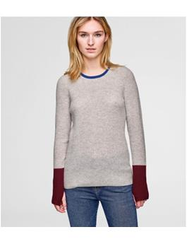 CASHMERE BLOCKED THERMAL CREW