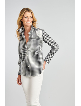 THE IVY GINGHAM BUTTON DOWN SHIRT